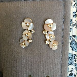 Kate Spade Disco Pansy Ear Pin
